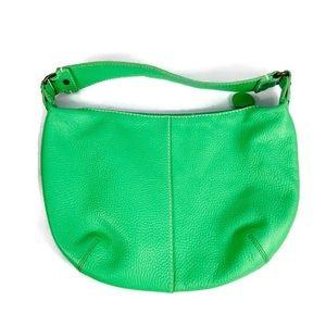 Gap Vibrant leather Green Small Shoulder Bag GUC
